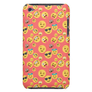 Coques Barely There iPod Motif rouge idiot d'Emoji