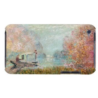 Coques Barely There iPod Studio de bateau de Claude Monet | sur la Seine