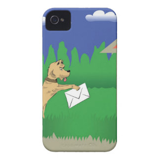 Coques Case-Mate iPhone 4 28dog et lettre