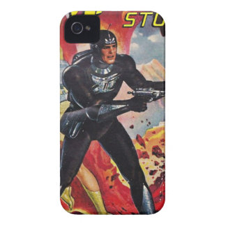 Coques Case-Mate iPhone 4 Astronaute avec deux Rayguns