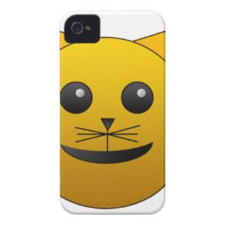 Coques Case-Mate iPhone 4 beau heureux de bébé de chat de joie animale