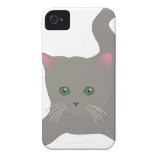 Coques Case-Mate iPhone 4 beau heureux de bébé de chaton de joie animale