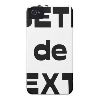 Coques Case-Mate iPhone 4 Bête de Texte - Jeux de Mots - Francois Ville