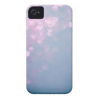 Coques Case-Mate iPhone 4 Caisse molle bleue et rose de l'iPhone 4 de