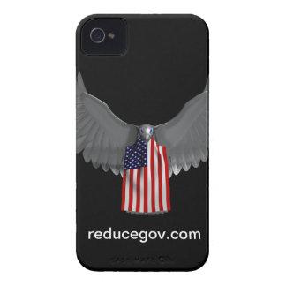 Coques Case-Mate iPhone 4 Cas de Smartphone sur la verticale noire