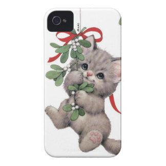 Coques Case-Mate iPhone 4 Cas mignon de compagnon de Kitty, iPhone4