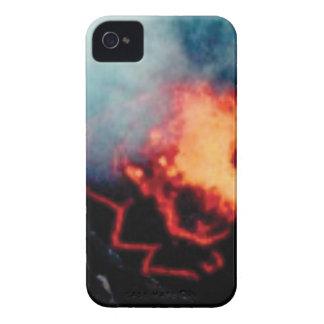 Coques Case-Mate iPhone 4 chutes de lave de la chaleur
