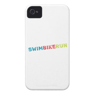 Coques Case-Mate iPhone 4 Conception de cool de triathlon