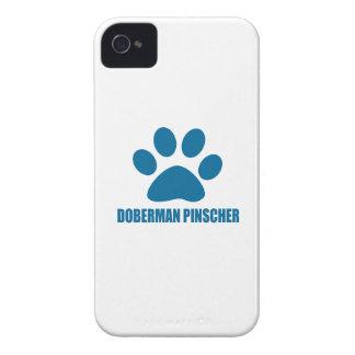 COQUES Case-Mate iPhone 4 CONCEPTIONS DE CHIEN DE PINSCHER DE DOBERMANN
