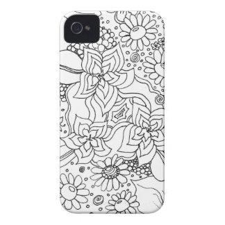 Coques Case-Mate iPhone 4 Conglomération des fleurs