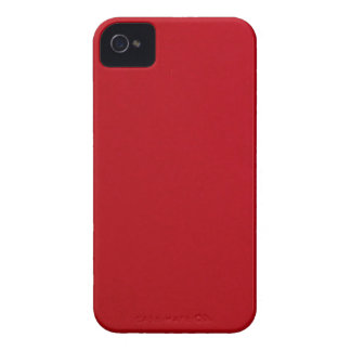 Coques Case-Mate iPhone 4 Couleur rouge simple