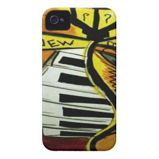 Coques Case-Mate iPhone 4 Courrier musical de rue de la Nouvelle-Orléans