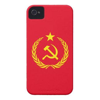 Coques Case-Mate iPhone 4 drapeau de communiste de guerre froide de cas de