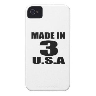 COQUES Case-Mate iPhone 4 FAIT DANS 03 CONCEPTIONS D'ANNIVERSAIRE DES