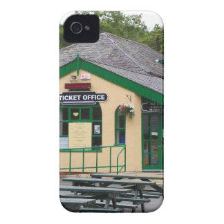 Coques Case-Mate iPhone 4 Gare ferroviaire de montagne de Snowdon,