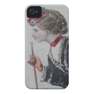 Coques Case-Mate iPhone 4 iPhone4 case, 19th century fashion illustration