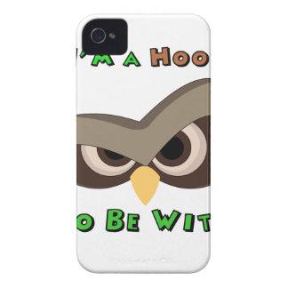 Coques Case-Mate iPhone 4 Je suis une copie fâchée de visage de hibou de