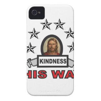 Coques Case-Mate iPhone 4 la gentillesse est sa manière ouais
