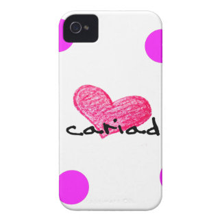 Coques Case-Mate iPhone 4 Langue de Gallois de conception d'amour