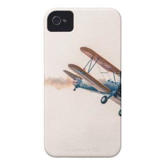 Coques Case-Mate iPhone 4 Les avions de Stearman Pt-13d double Decker volent
