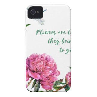 Coques Case-Mate iPhone 4 Les fleurs sont comme friends.JPG
