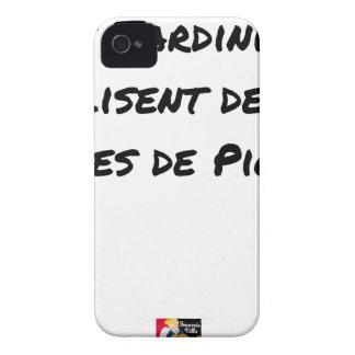 COQUES Case-Mate iPhone 4 LES JARDINIERS LISENT DES LIVRES DE PIOCHE