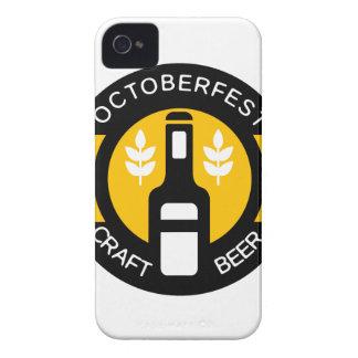 Coques Case-Mate iPhone 4 Modèle de conception de logo de bière de métier