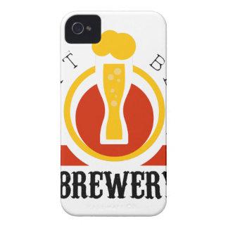 Coques Case-Mate iPhone 4 Modèle de conception de logo de brasserie de bière