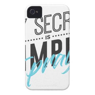 Coques Case-Mate iPhone 4 Mon secret est simple je prient