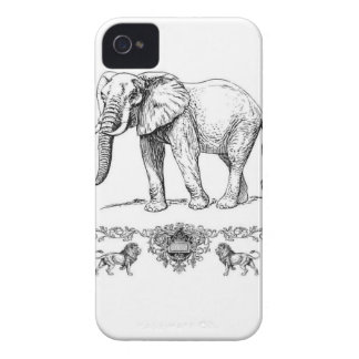 Coques Case-Mate iPhone 4 pachydermes d'abondance