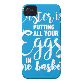 Coques Case-Mate iPhone 4 Pâques met tous vos oeufs dans un panier
