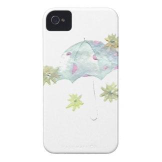 Coques Case-Mate iPhone 4 Parapluie bleu