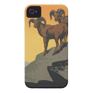 Coques Case-Mate iPhone 4 Parcs nationaux Amérique Etats-Unis d'affiche