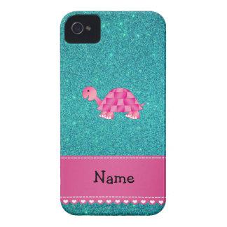 Coques Case-Mate iPhone 4 Parties scintillantes roses nommées personnalisées