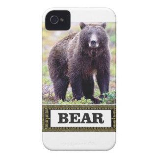 Coques Case-Mate iPhone 4 petit animal d'ours dans l'art