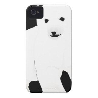 Coques Case-Mate iPhone 4 PolarBearCubBlackSF