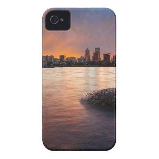 Coques Case-Mate iPhone 4 Portland OU horizon le long de coucher du soleil