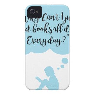 Coques Case-Mate iPhone 4 Pourquoi ne pouvez pas je lis juste quotidien de