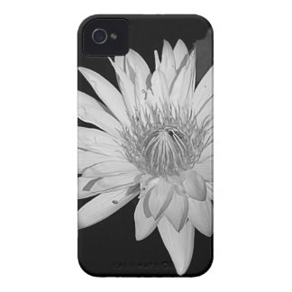 Coques Case-Mate iPhone 4 Style noir et blanc de lis