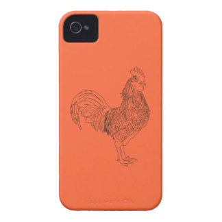 "Coques Case-Mate iPhone 4 The cockerel ""waltz"""