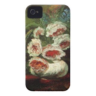 Coques Case-Mate iPhone 4 Vase à Van Gogh avec des pivoines, beaux-arts