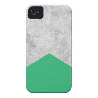 Coques Case-Mate iPhone 4 Vert concret #175 de flèche