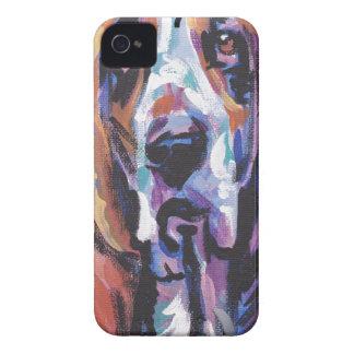 Coques Case-Mate iPhone 4 Vous êtes mon coeur de Basset Hound