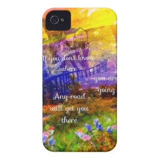 Coques Case-Mate iPhone 4 Vous ne savez pas où la route nous mènent