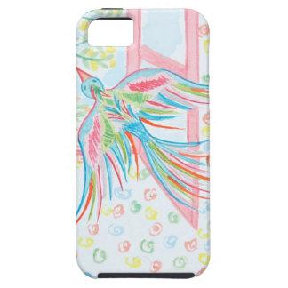 """Coques Case-Mate iPhone 5 Aquarelle """"ouvrez la cage aux oiseaux"""""""