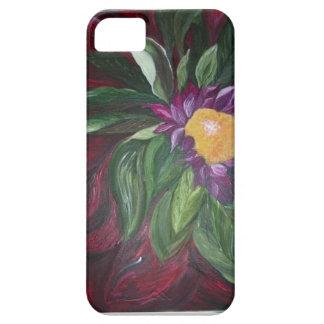 Coques Case-Mate iPhone 5 Caisse saisissante de fleur pour le smartphone,