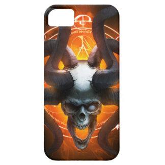 Coques Case-Mate iPhone 5 Cas mystérieux de téléphone de crâne
