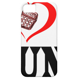 Coques Case-Mate iPhone 5 Coeur I mon COMPTABLE