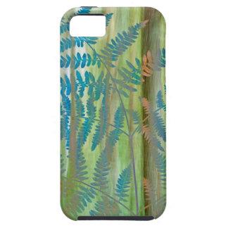 Coques Case-Mate iPhone 5 Collage des fougères et de la forêt | Seabeck, WA