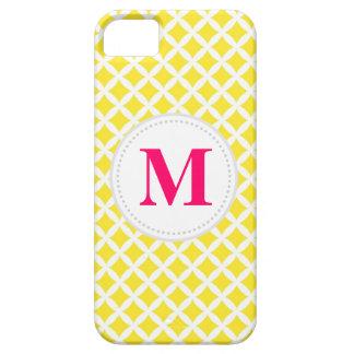 Coques Case-Mate iPhone 5 Diamants jaunes